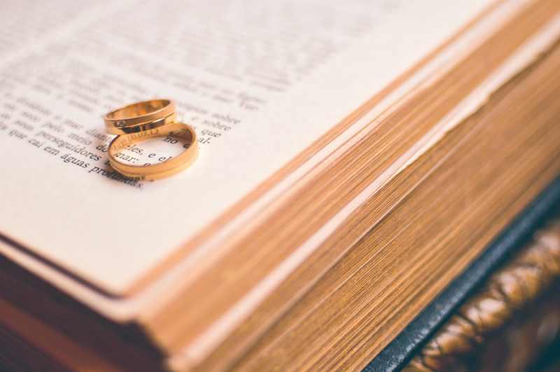 kalendarz przygotowań ślubnych - obrączki
