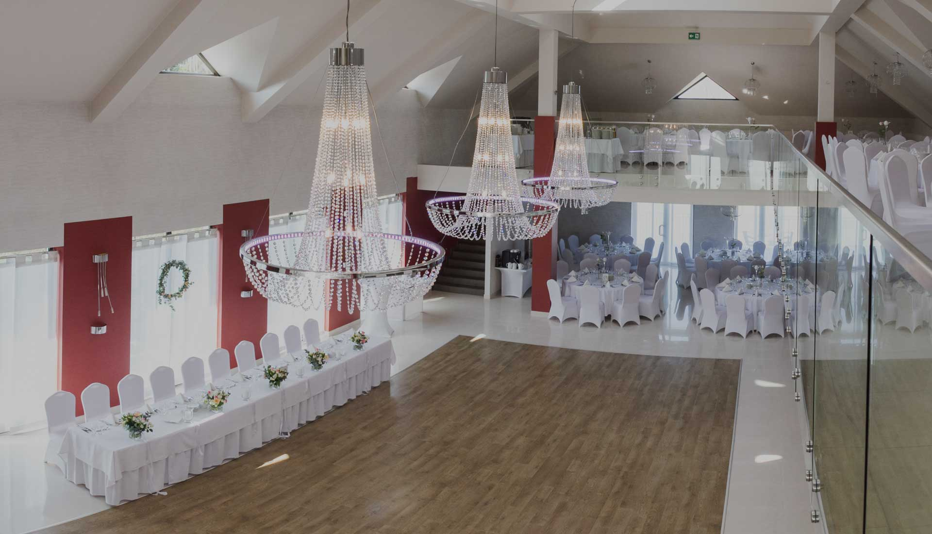 Przyjęcie weselne w Sali Bankietowej Triana w Mogilanach