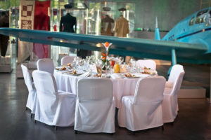 Przyjęcie weselne w Muzeum Lotnictwa - Kraków