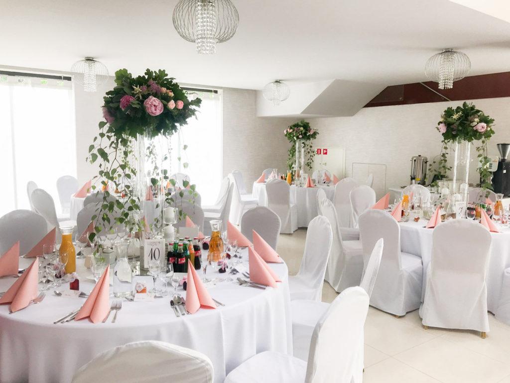 Przyjęcie weselne w Trianie