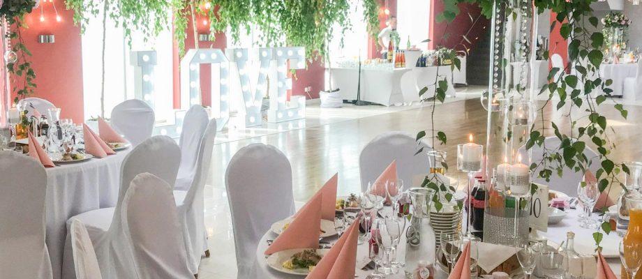 Luksusowa sala weselna