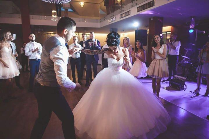Turkusowe wesele Eweliny i Patryka