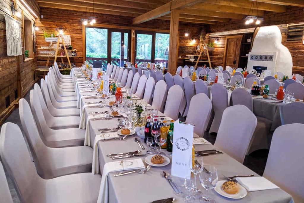 Catering weselny w Eko Sioło