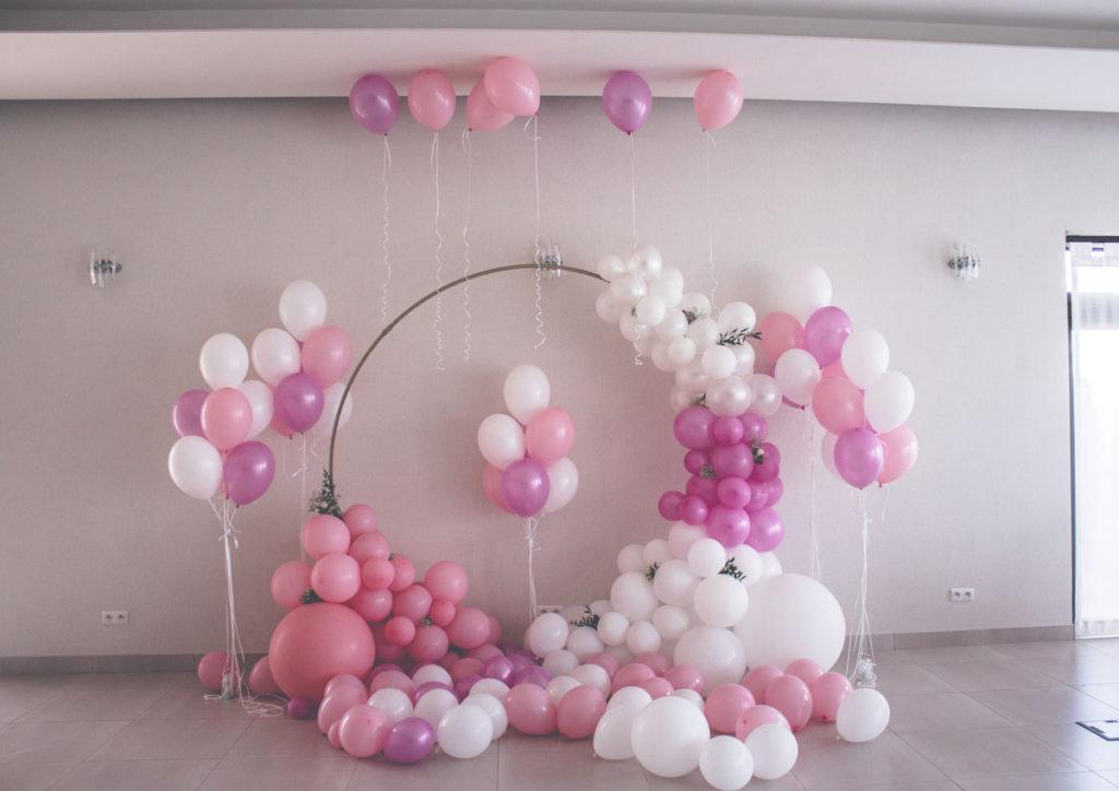 Balonowe dekoracje w Trianie